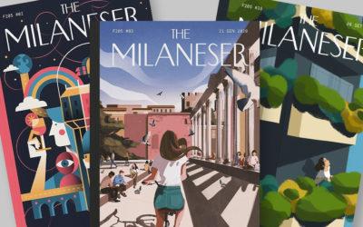 Milano celebrata nelle copertine di una rivista che non c'è: The Milaneser