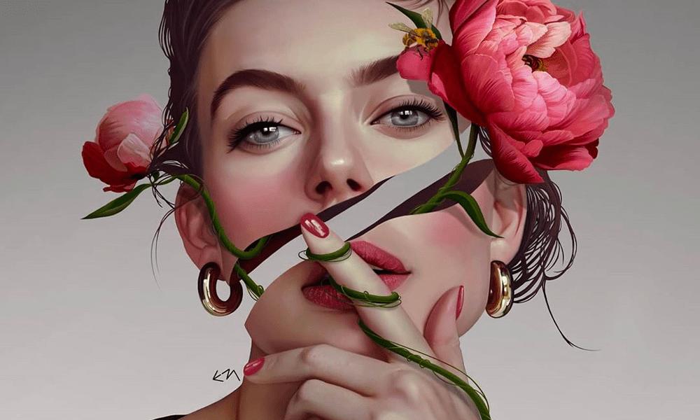 I ritratti surrealisti e visionari di Elena Masci