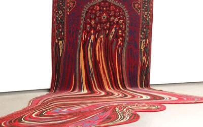 "Tappeti ""liquidi"" ed altre impressionanti opere di Faig Ahmed"