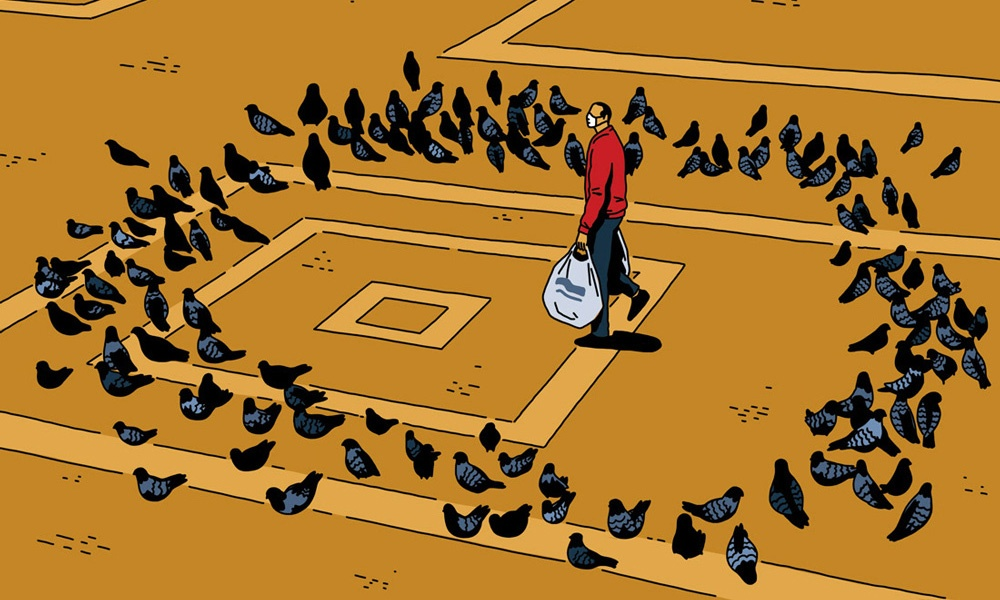 L'ironia surreale in stile comic di Federico Tramonte