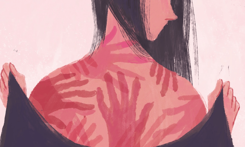 Un raccolta di illustrazioni contro la violenza sulle donne