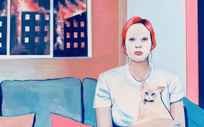 Esorcizzare l'angoscia quotidiana attraverso l'arte: Monica Loya