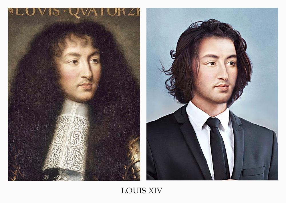 becca saladin royalty now picame luigi XVI