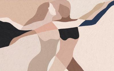 Guardare le illustrazioni di Kit Agar è come fare yoga con gli occhi