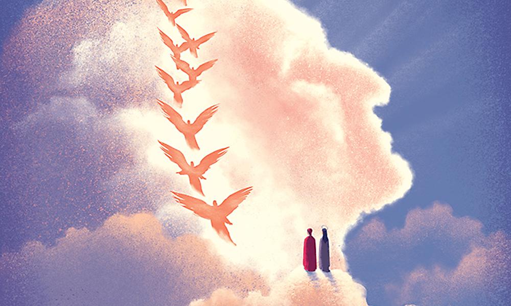 Le copertine di Davide Bonazzi per la nuova edizione della Divina Commedia di Einaudi