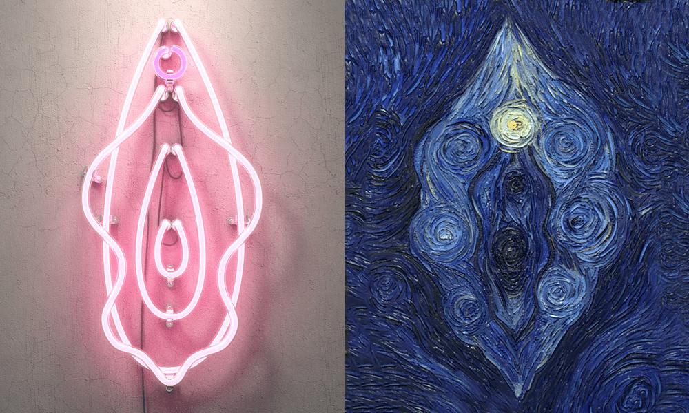 Un museo immaginario di falsi d'arte dedicati alla vulva