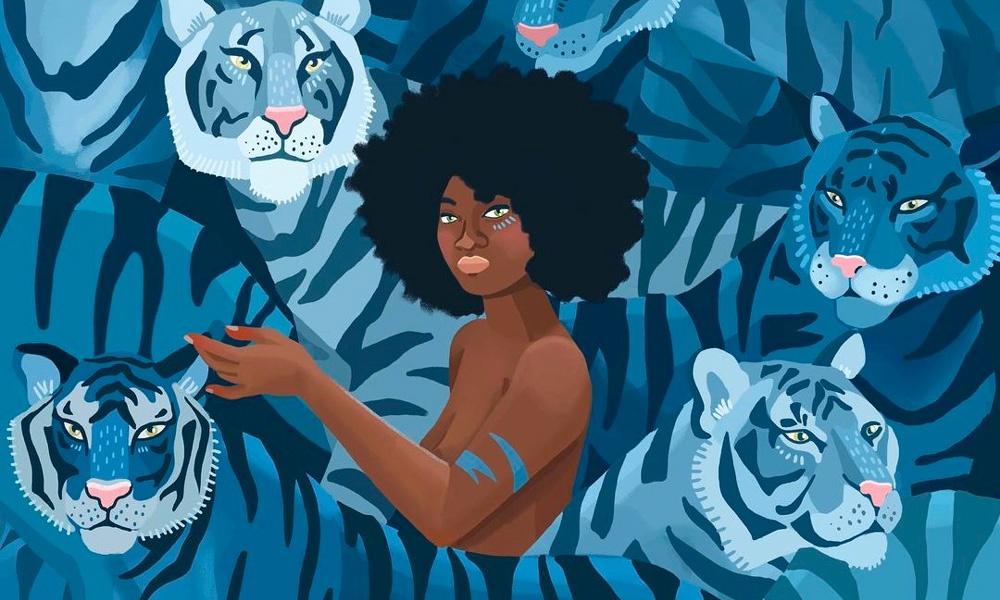 """Il trionfo della natura e della femminilità nelle illustrazioni """"artiviste"""" di Asia Orlando"""