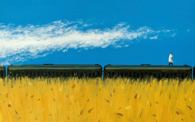 I piccoli dipinti dal taglio cinematografico di Zhiyong Jing