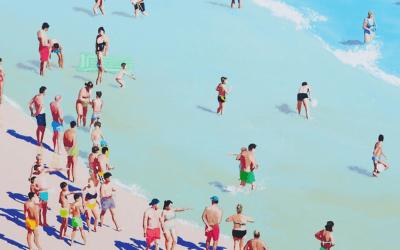 Dipinti che fanno venire voglia di estate e di mare: Carlos Martín