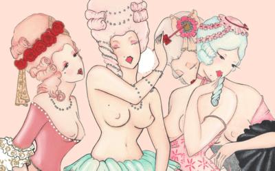 Raffinato erotismo saffico ispirato alla vita libertina degli anni '20: intervista a Madame Dabi