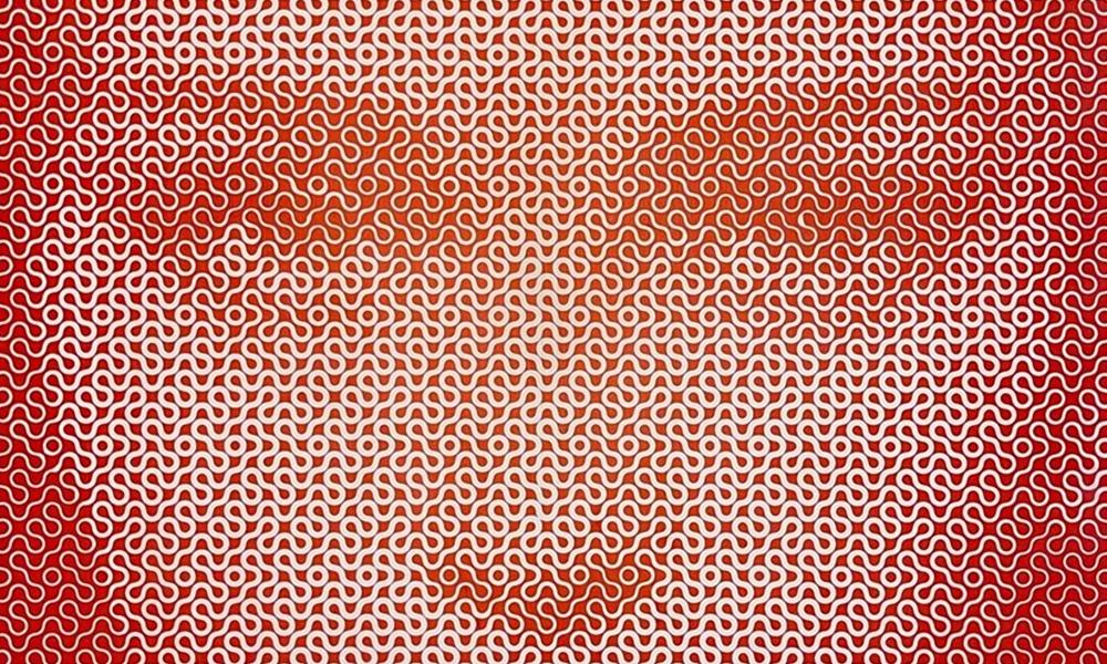 Illusioni geometriche che osservate da lontano svelano affascinanti ritratti: Lee Wagstaff