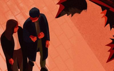 Illustrazioni che raccontano la vita quotidiana come se fosse la trama di un film: Domagoj Šokčević