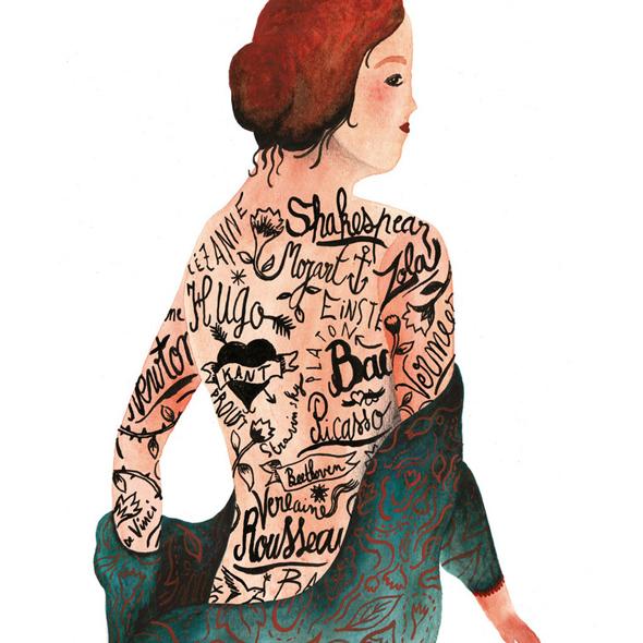 I fantasmi poetici di Sophie Lécuyer