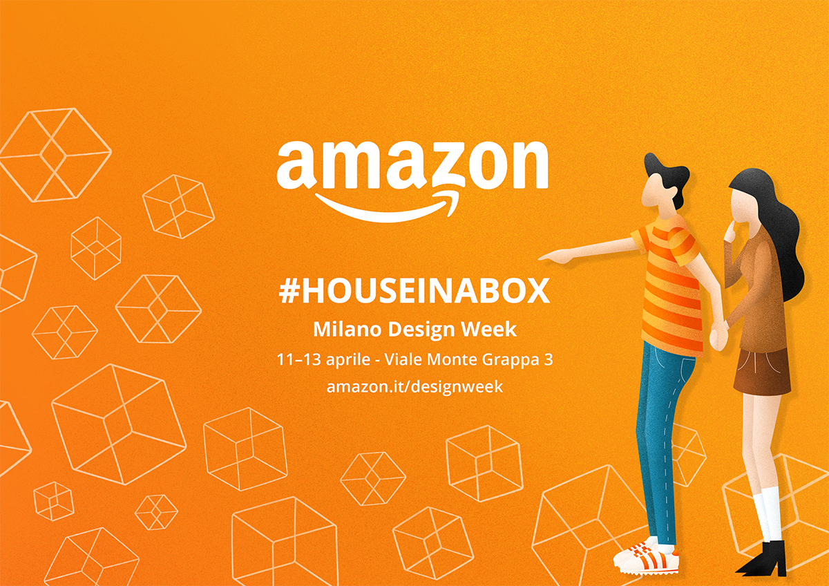 """Alla Milano Design Week 2019 c'è anche Amazon con """"House in a Box"""", l'arredamento a portata di click"""