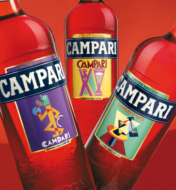 Campari Art Label 2014