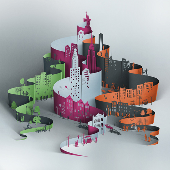 New York by Eiko Ojala