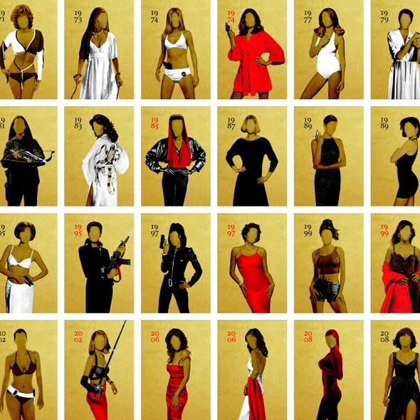 5 Decades of Bond Girls