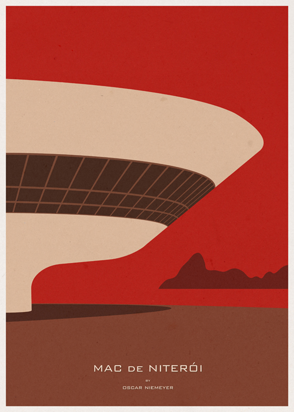 Minimalist Architecture Posters