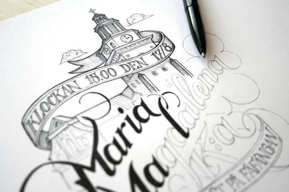 Ballpoint, Ink & Pencil