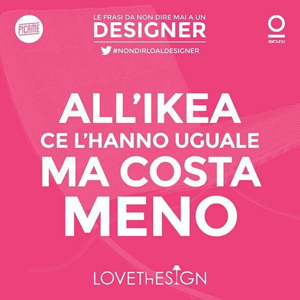 Le frasi da non dire MAI a un Designer