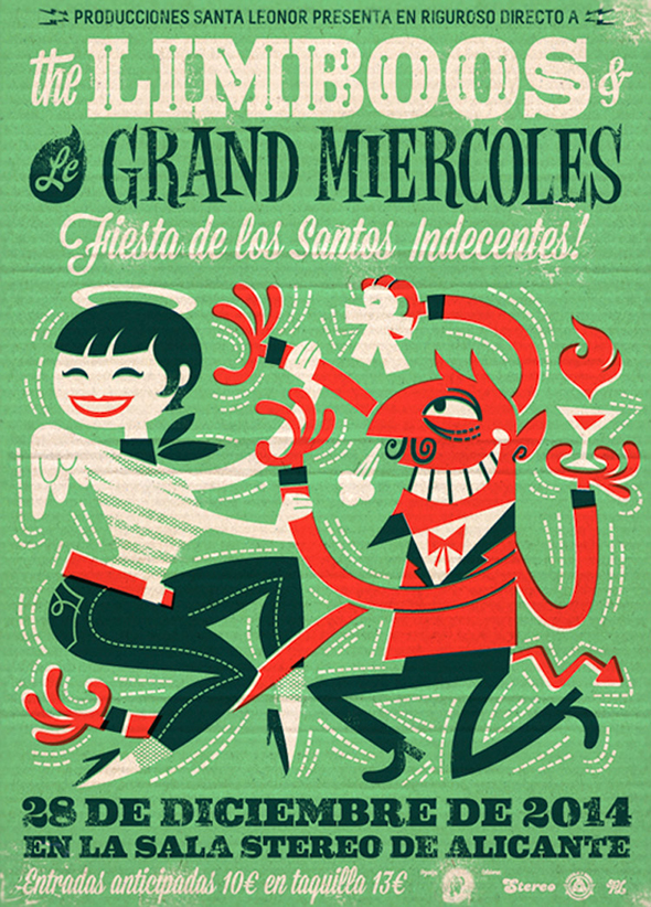 Le locandine illustrate di Pablo Lacruz