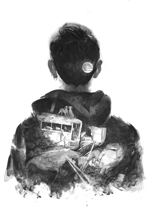 Iperrealismo su carta: Thomas Cian