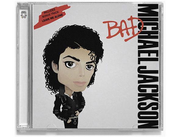 Album Cover Caricature