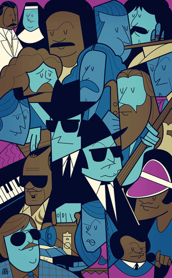 Movie Posters by Ale Giorgini