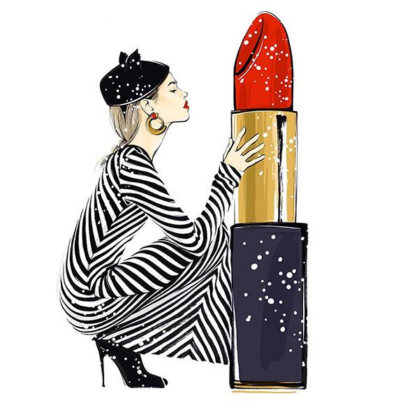 Lo stile giusto al posto giusto: l'illustrazione fashion di Alena Lavdovskaya