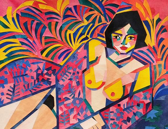 """Alice Lindstrom e l'arte di """"illustrare con le forbici"""""""