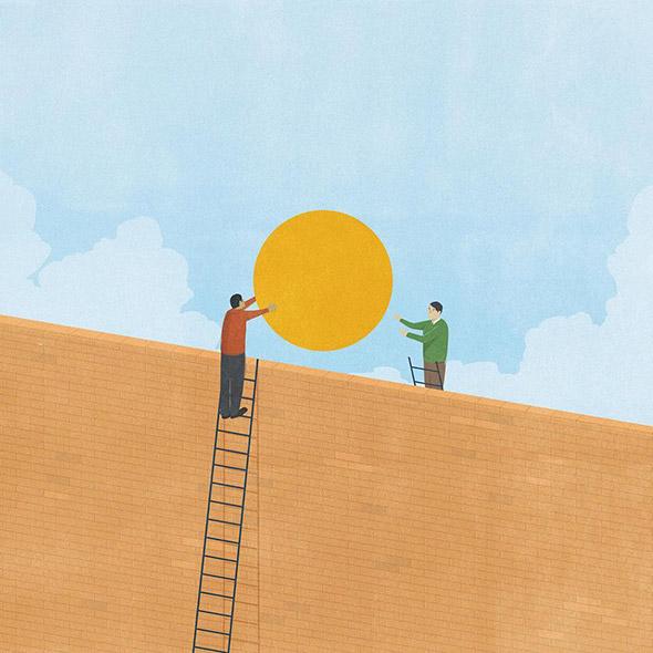 L'illustrazione perfetta è come un brano stonato: intervista a Andrea Ucini
