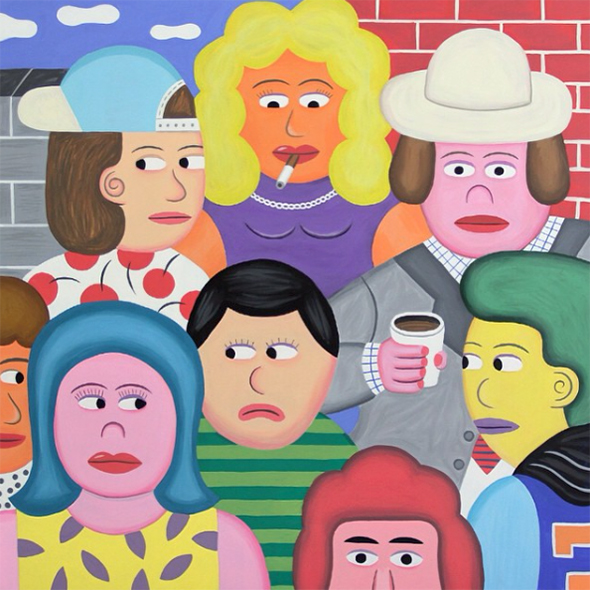 I dipinti assonometrici di Andy Rementer