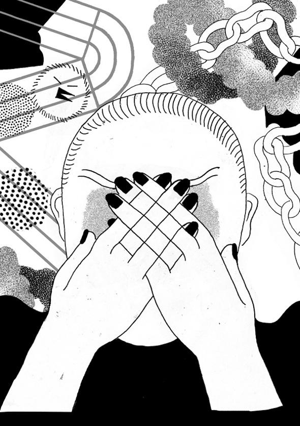 Le illustrazioni di Anna Deflorian