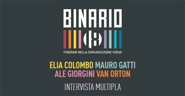 Intervista multipla con gli illustratori di Binario 18: Elia Colombo, Mauro Gatti, Ale Giorgini e Van Orton