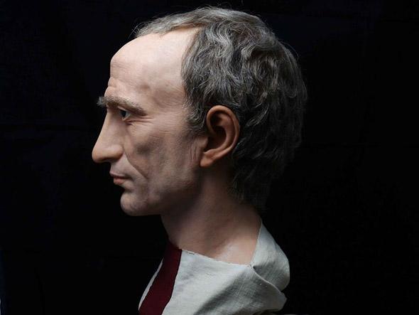 Un artista spagnolo ha ricreato i volti degli imperatori romani partendo da antichi busti di marmo