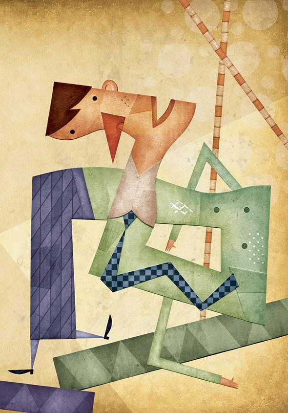 Le illustrazioni di Daniel Bueno