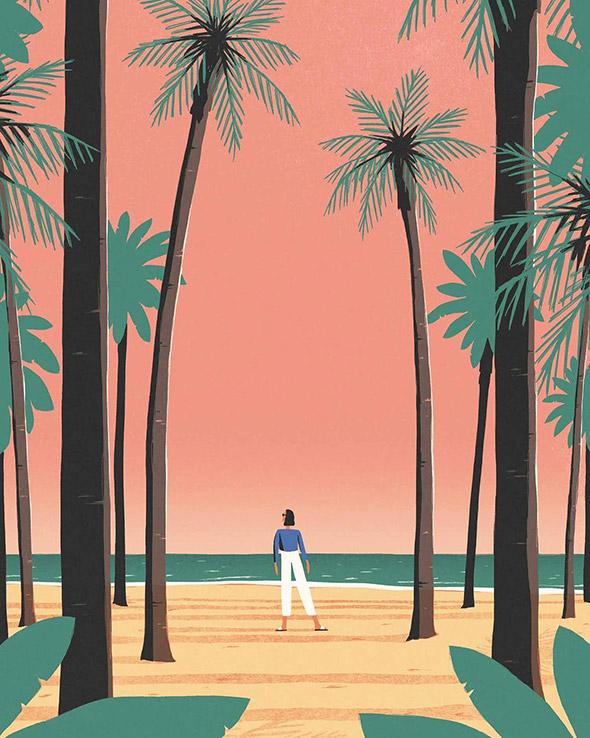 La vita che tutti sogniamo nelle illustrazioni di David Doran