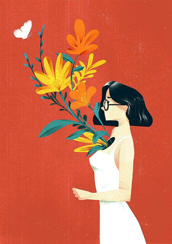 Le illustrazioni di Dola Sun