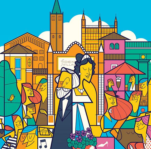 Un colouring book per raccontare ai bambini il mito della Duchessa
