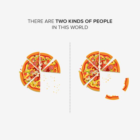 Le 8 abitudini alimentari che dividono le persone del Mondo