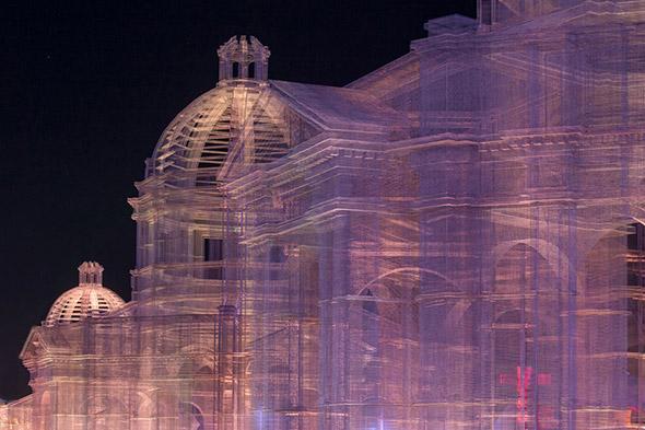 Le stupefacenti architetture in rete metallica di Edoardo Tresoldi