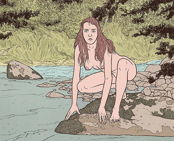 Perdersi nella natura con le illustrazioni di Ettore Mazza