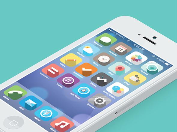 iOS7 Fancy Redesign