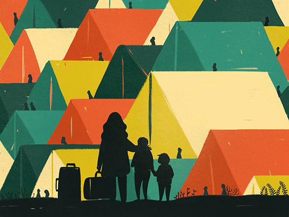 Le illustrazioni migranti di Francesca Sanna