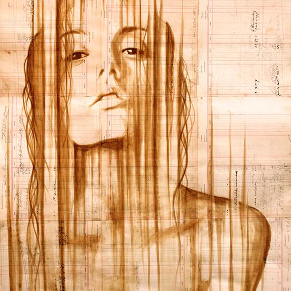 I dipinti col caffè di Michael Aaron Williams