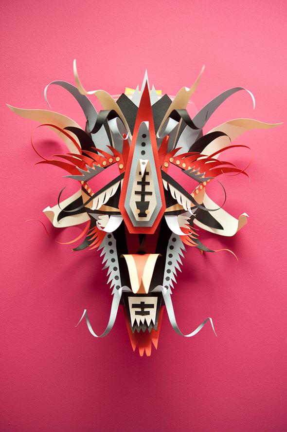 Papercraft Carnival Masks