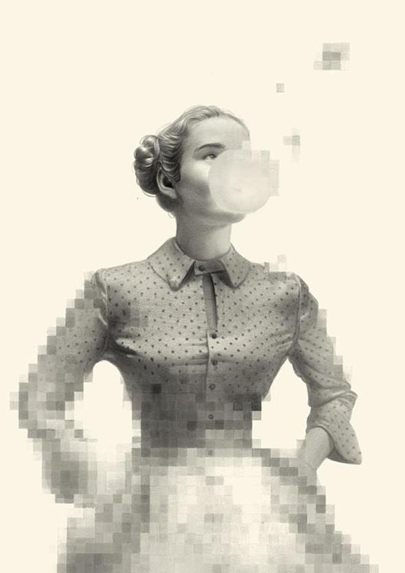 I pixel a matita di Greg Ruth