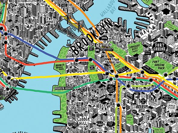 Hand Drawn Cities