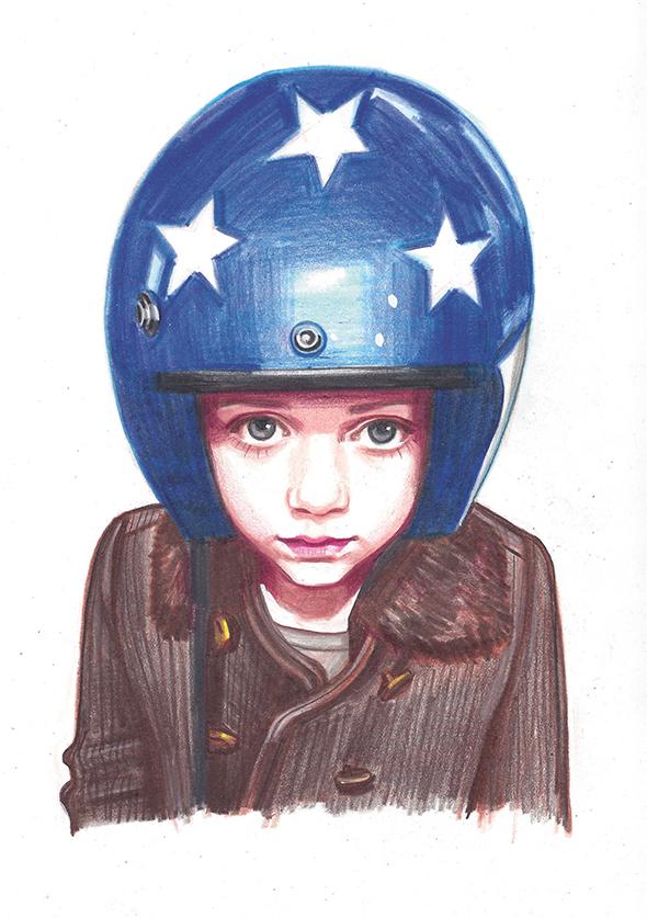 Gli outfit dei teenager disegnati da Jenny Williams