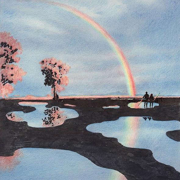 Lee Kyutae: illustrazioni oniriche fatte di pura luce